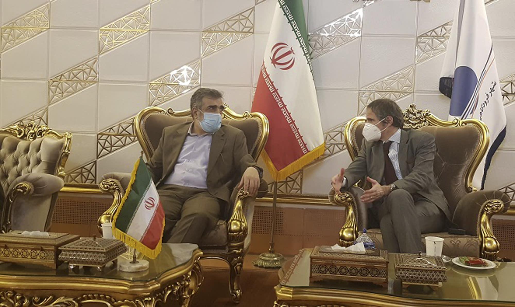 U.N. nuclear chief arrives in Iran ahead of deadline