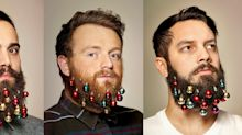 Beard ornaments have made a comeback this Christmas