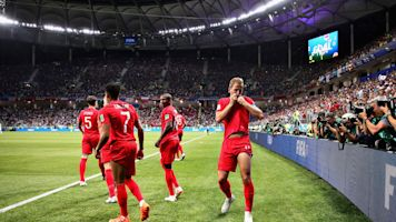 In the picture: England's opening win in photo form