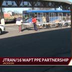 WAPT, JTRAN distribute PPE