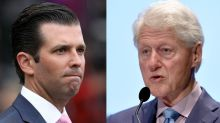 Twitter can't handle the irony in Trump Jr.'s #MeToo tweet about Bill Clinton