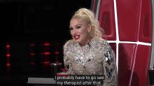 Gwen Stefani's shady reaction to 'Voice' contestant: 'Some of those '90s songs are like a trigger for me'