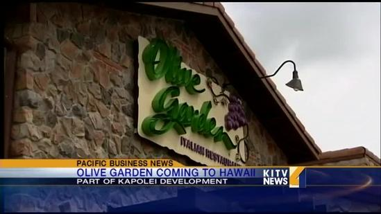 Olive Garden coming to Hawaii