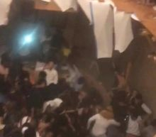 At least 30 injured as floor collapses at university fraternity party in South Carolina