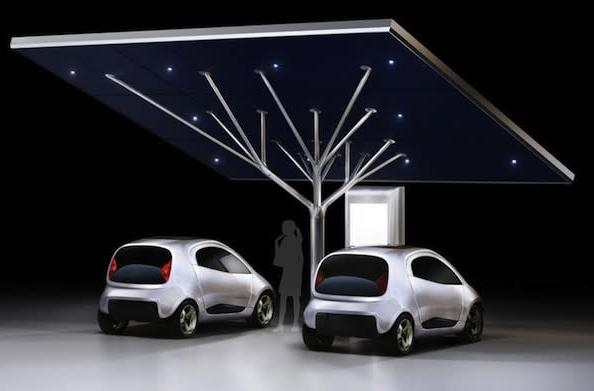 Pininfarina's stunning tree-shaped Antares EV charging station should be more than a prototype