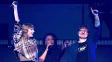 Taylor Swift and Ed Sheeran Take Best Friends Hike to Celebrate Their Competing AMA Nominations