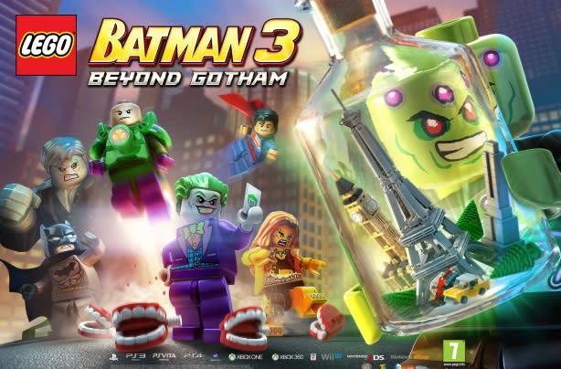Brainiac has the whole world in his hands in LEGO Batman 3