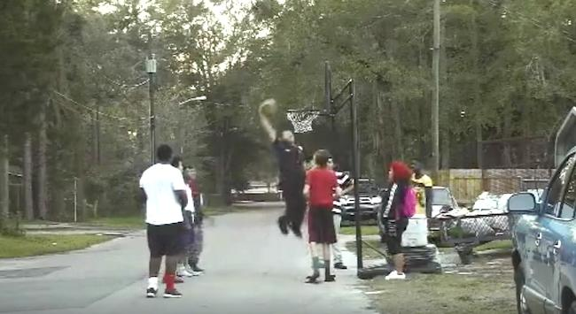 Someone Called 911 Over Kids Playing Basketball, And This Cop Responded By Throwing Down A Dunk