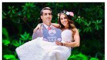 Saiba o que faz essa mulher usar o vestido de noiva todos os anos