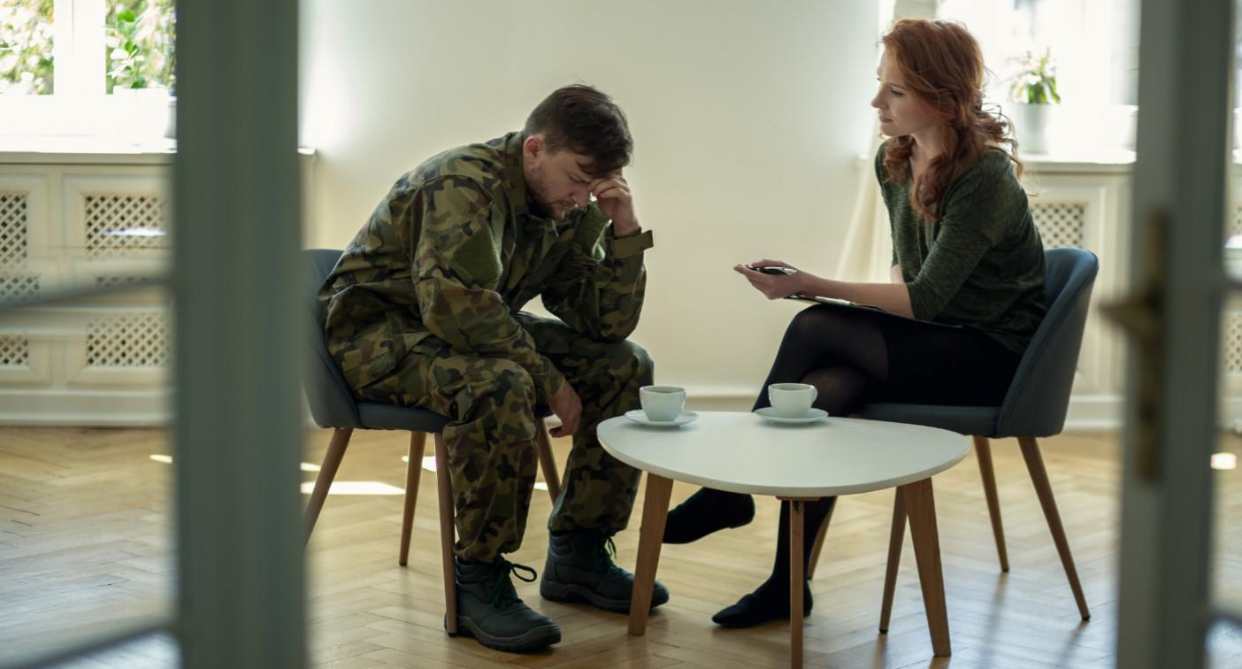 Soldiers receiving sex therapy after combat stress affects their love lives