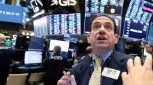Dow snaps 9-week winning streak
