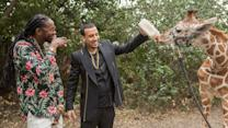 Most Expensivest Shit - 2 Chainz & French Montana Feed a $40K Giraffe