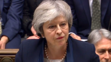 Theresa May tries to turn screw on Corbyn after surviving no confidence vote