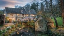 This 14th century Cotswolds millhouse is simply charming