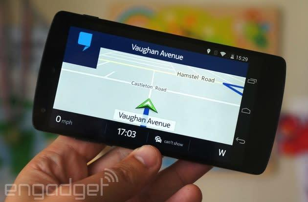 Nokia's Here Maps arrives on Android