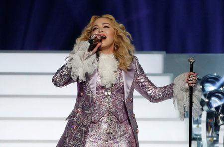 Madonna, on Eurovision, says she won't bow 'to suit