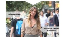 Look des Tages: Heidi Klum im sexy Minirock aus Leder