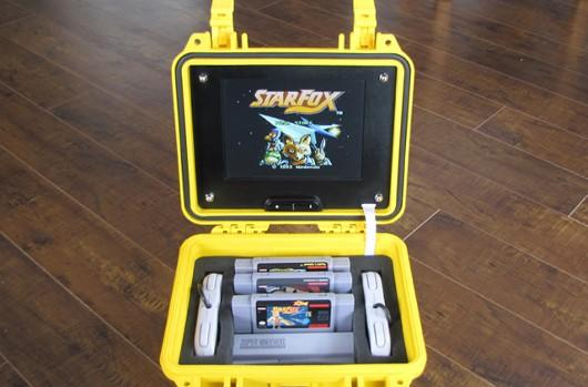 Portable SNES is one shade of yellow, 16 bits of cool