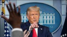 Trump beklagt gesunkene Popularitätswerte in Corona-Krise