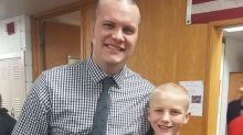 Principal stands up to bullying by letting bullied student shave his head