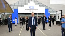Coronavirus: Prince Charles says NHS Nightingale shows 'impossible' can be done via videolink opening