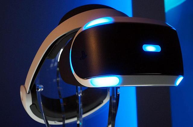 Sony's PlayStation 4 VR headset launching in the 'first half of 2016'