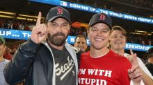 Ben Affleck and Matt Damon Cheer On the Boston Red Sox to a World Series Win