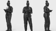 """Sculptorul dezvăluie """"orice femeie neagră"""" pe măsură ce rândul Marii Britanii trece peste statui și cursa crește"""