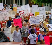 Abortion rights supporters' voices thunder at #StopTheBans rallies across the nation