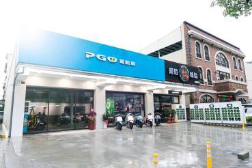PGO電動機車高雄鳳山據點新開幕、設置Super Gostation超級換電站提供更便利的體驗!