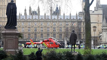 Parliament attack: police officer among four dead in 'sick and depraved' incident