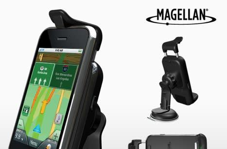 Magellan debuts GPS app / car kit for iPhone and iPod touch
