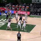 Bradley Beal with a buzzer beater vs the Milwaukee Bucks