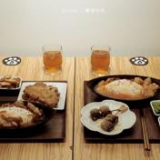 爪飯日食|超高CP值美食,簡餐只要60元!必點鹽漬青檸雞、貓愛吃秋刀魚串燒