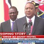 President Kenyatta Says Gunmen in Nairobi Attack Have Been 'Eliminated'