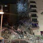 Rescuers rush to partial building collapse in Miami Beach