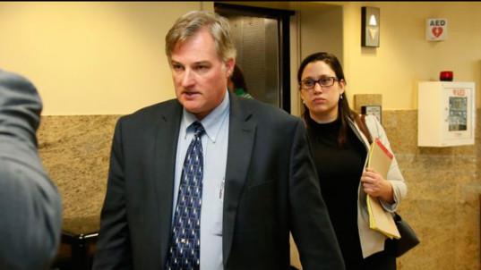 White cop guilty in killing of daughter's black boyfriend