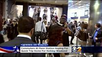 Crowds Swarm To Penn Station For Memorial Day Weekend Travel