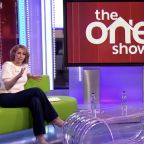 The One Show hosts do more more drastic social distancing by sitting across the room