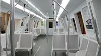BART models new-look train cars in Oakland