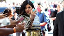 Kylie Jenner Goofed Off at a Photo Shoot
