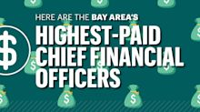 Who are the highest-paid CFOs in the Bay Area?