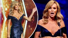 TV host Amanda Holden's plunging gown sparks complaints