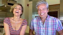 Flávia Alessandra conta a Otaviano Costa que já ficou excitada ao gravar cena