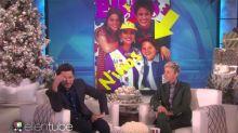 Abochornado Diego Luna en Ellen DeGeneres