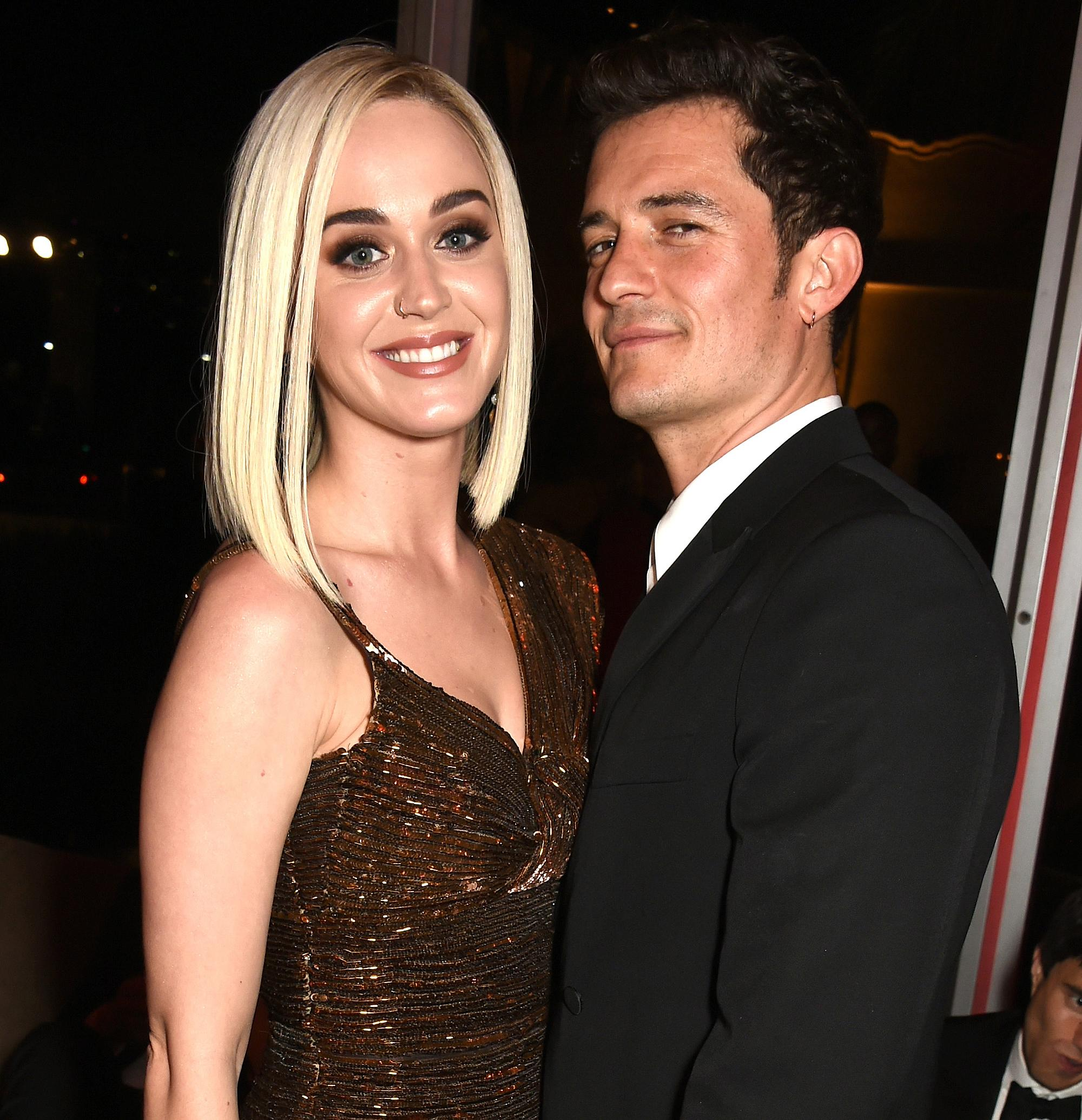 Katy Perry Celebrated \'Dating\' Orlando Bloom Again By Wearing a ...