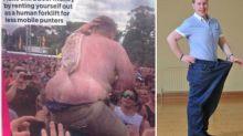 Un joven pierde 22kg tras ser humillado en Internet