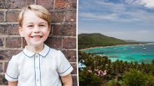 Prince George celebrated his fifth birthday on a private island