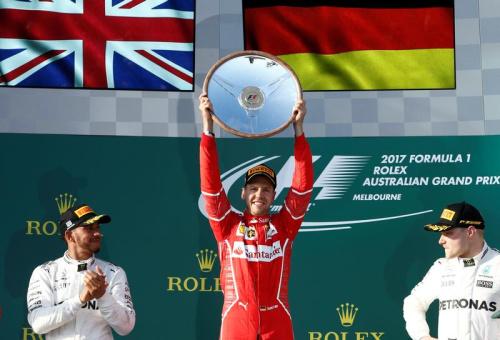 Ferrari et Vettel domptent Mercedes