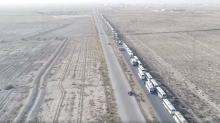 Jaysh al-Islam Convoy Leaves Damascus Province for Northern Syria
